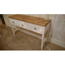 White Dresser with 3 Drawers
